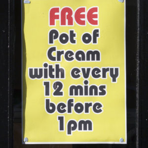 Free-pot-of-cream-Liverpool-2013